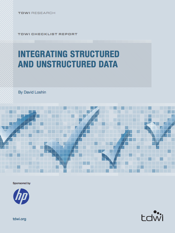 tdwi whitepaper integrating structured and unstructured data