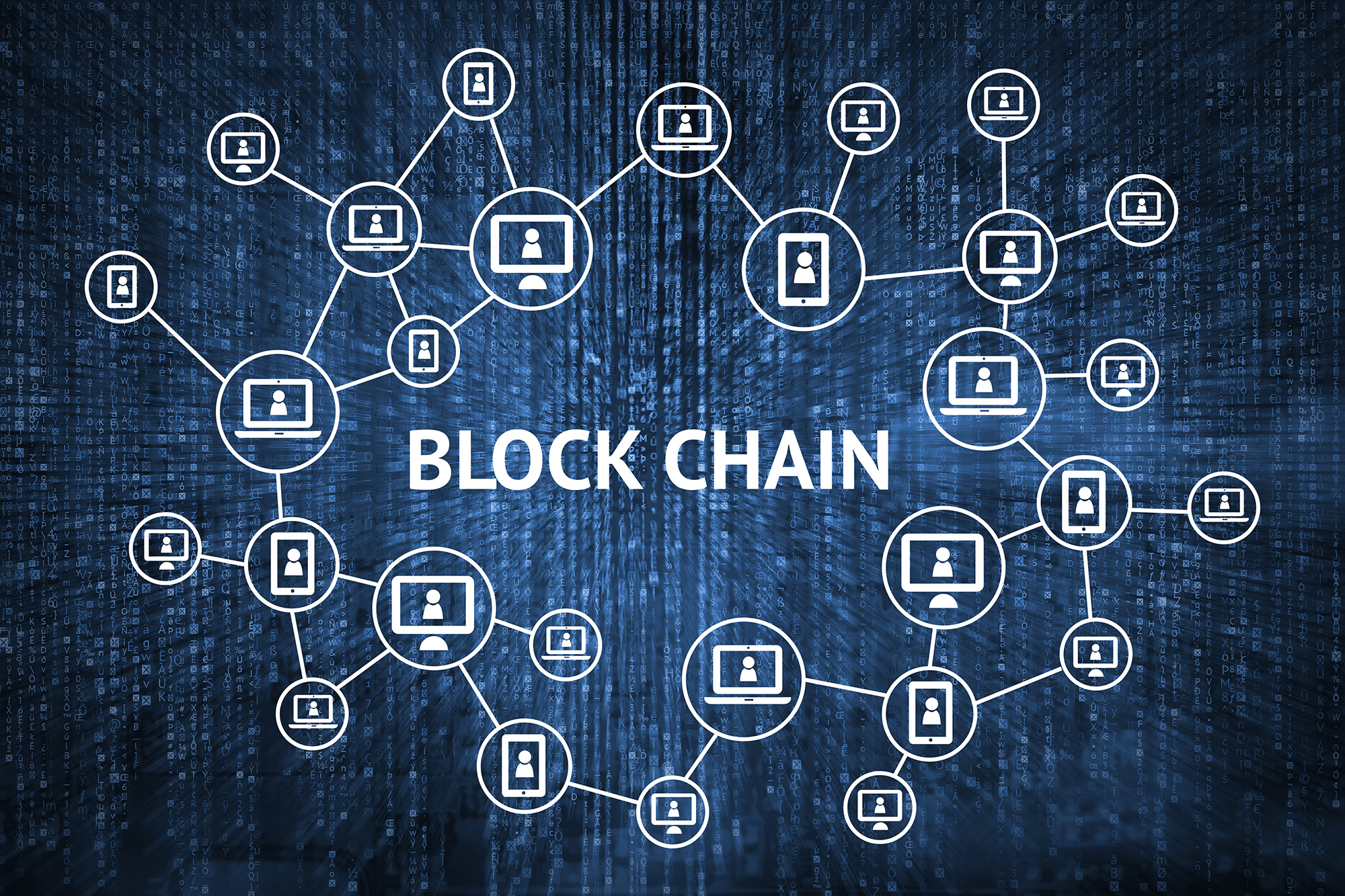 Block Chain Graphic